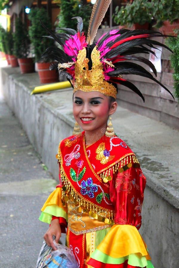 印度尼西亚女孩 免版税库存图片