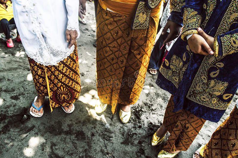印度尼西亚婚礼 库存照片