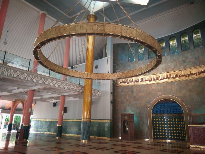 印度尼西亚日惹大学清真寺 免版税库存照片