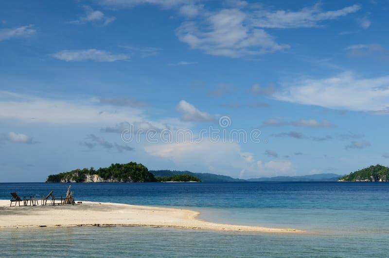 印度尼西亚海岛togean的sulawesi 免版税库存照片