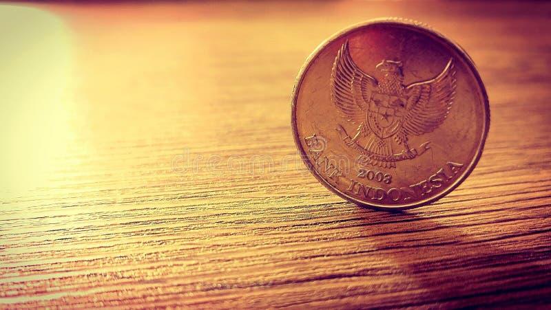 印度尼西亚硬币 图库摄影