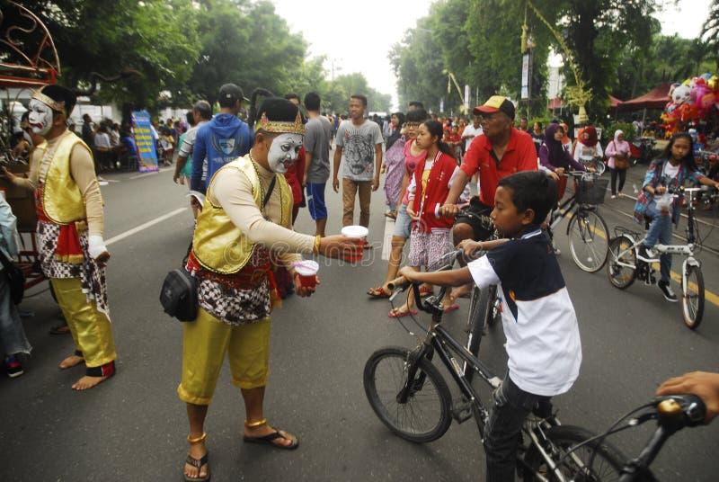 印度尼西亚营养不良 免版税库存照片
