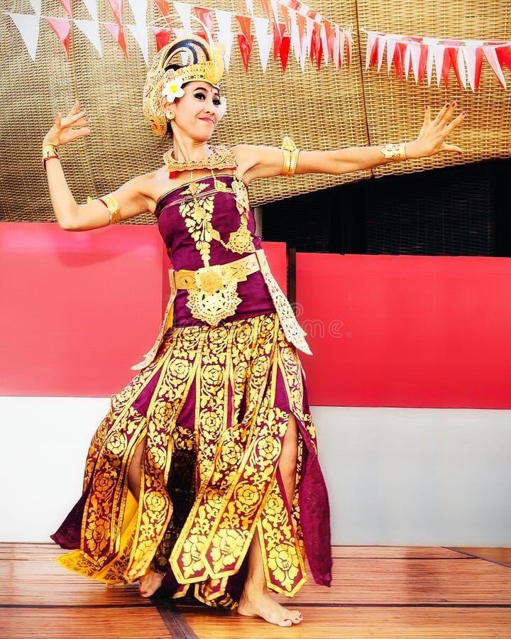 印度尼西亚跳舞 库存照片