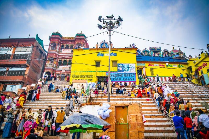 印度彩色寺庙|宗教场所|圣城 免版税图库摄影