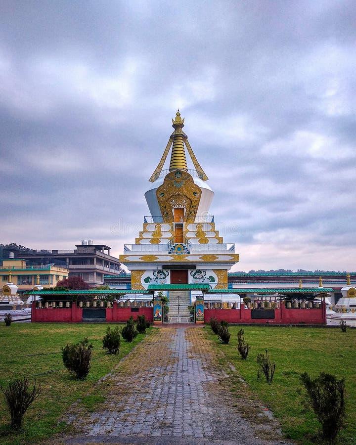 印度德拉敦修道院 库存照片