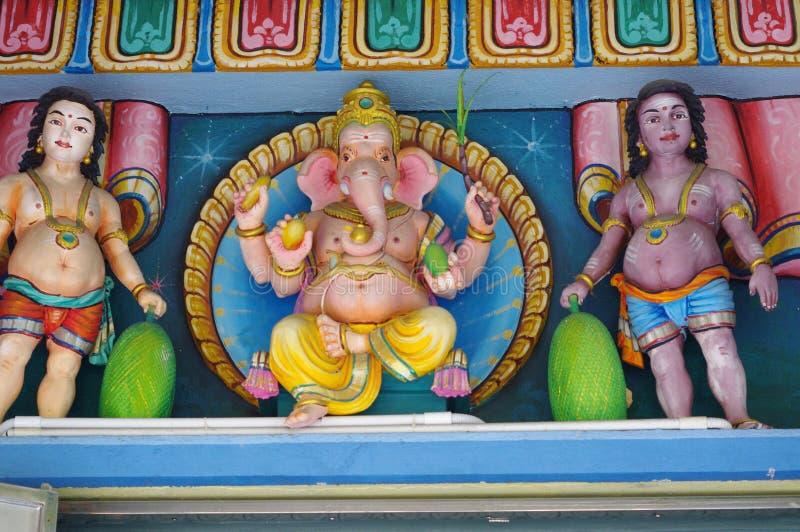 印度教雕象 库存图片