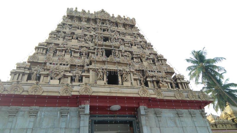 印度教Gokarnath寺庙宗教地方  图库摄影