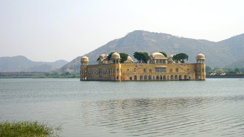 印度斋浦尔宫殿水 库存图片