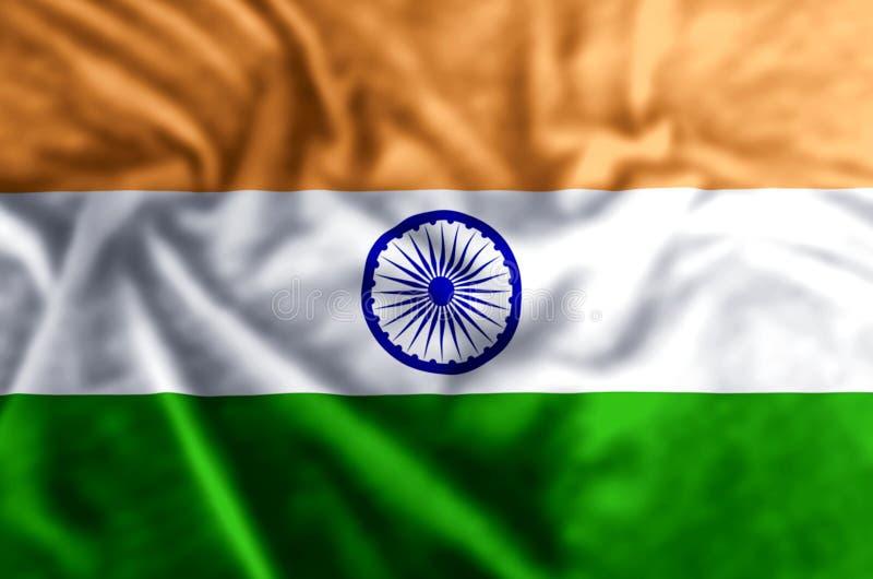 印度旗子例证 皇族释放例证