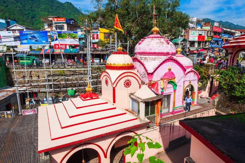印度曼迪镇锡德卡利寺 免版税图库摄影