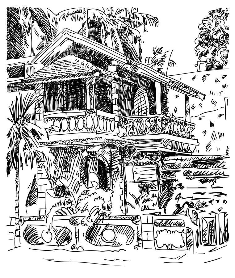 印度果阿恰朗格乌泰Baga风景街道, t原图  皇族释放例证