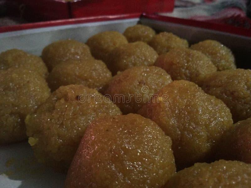 印度甜点 免版税库存照片
