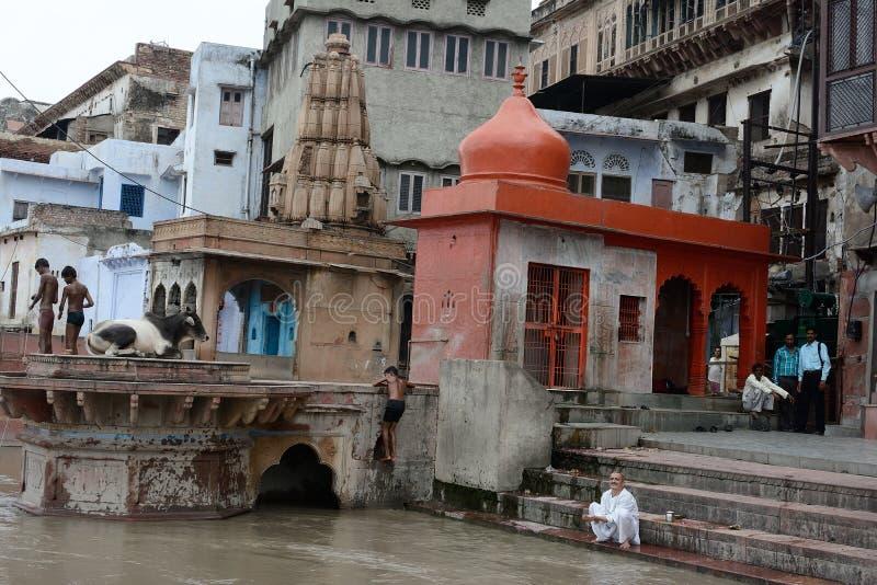 印度的宗教地方 图库摄影