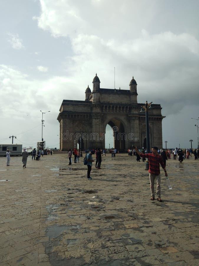 印度的Gatway 免版税库存图片