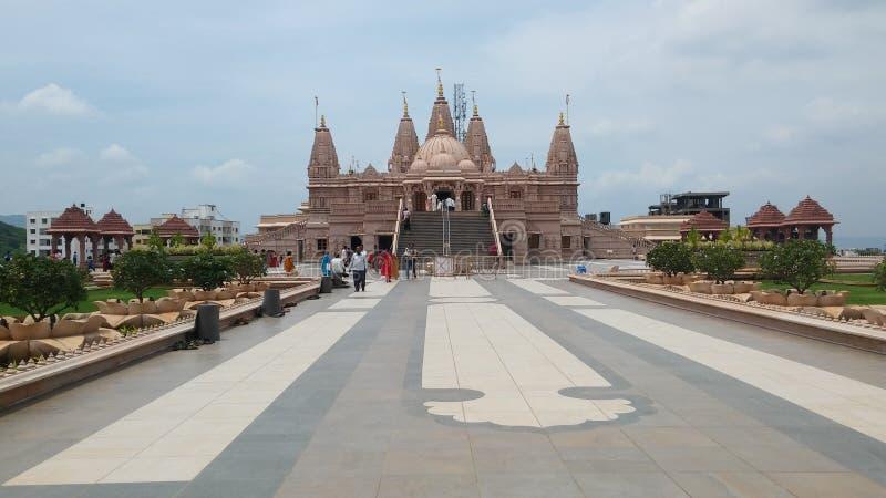 印度神寺庙 图库摄影