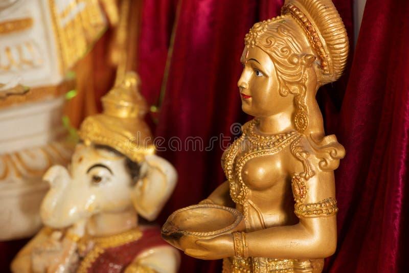 印度神神象 免版税库存图片