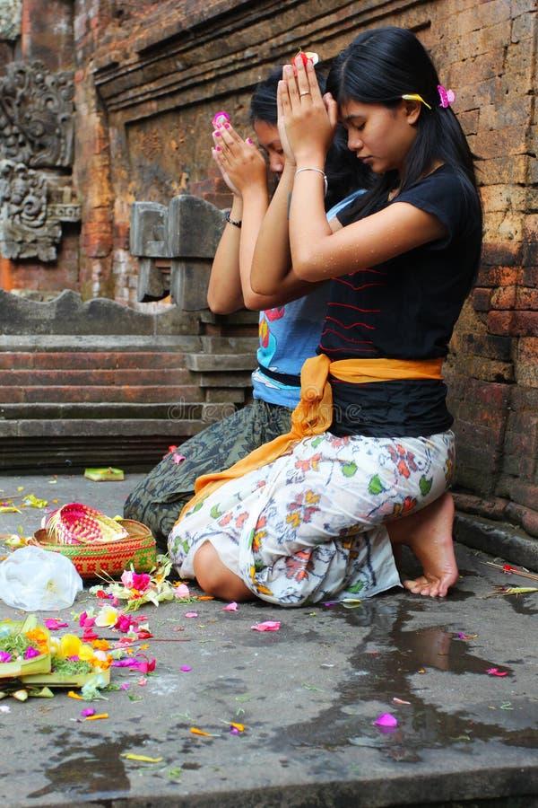 印度祷告 免版税库存照片