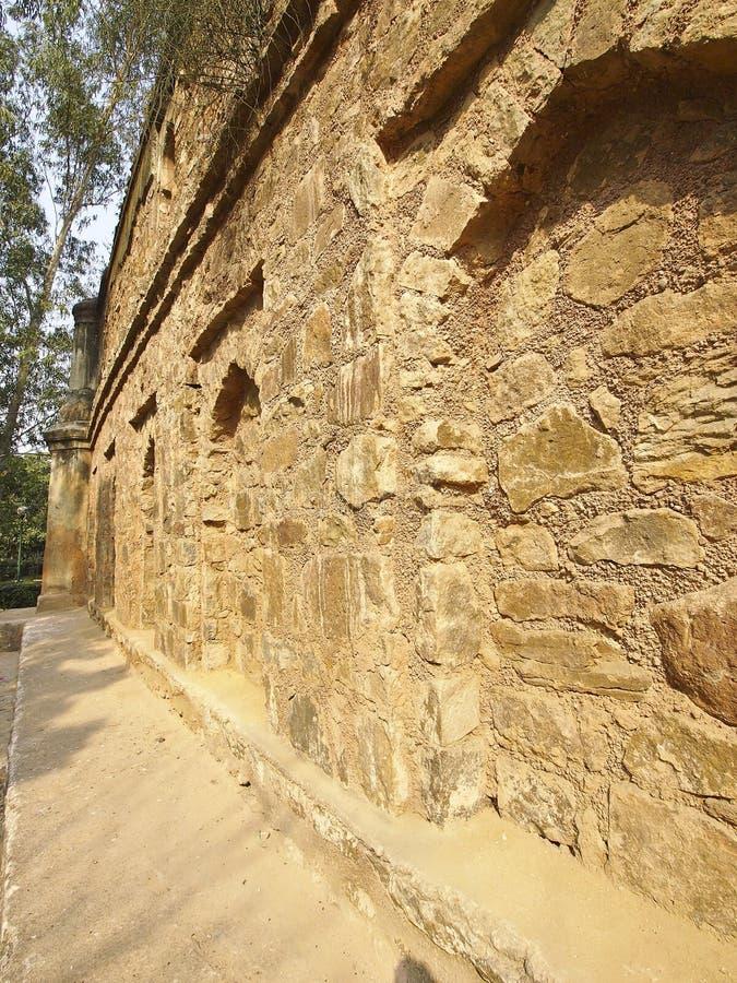 印度老城堡 免版税库存图片