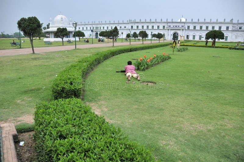 印度西孟加拉邦的哈扎拉鲁房地 库存照片