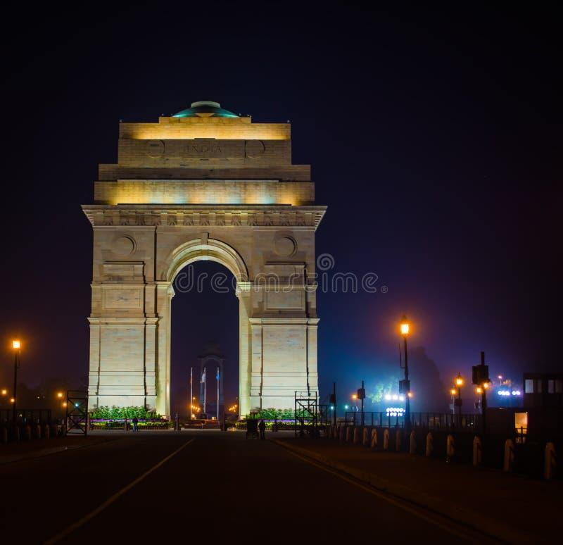 印度门-新德里 库存图片