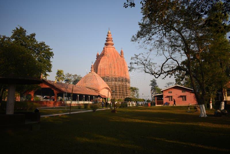 印度阿萨姆西瓦萨加的Shiva Dol 免版税库存照片