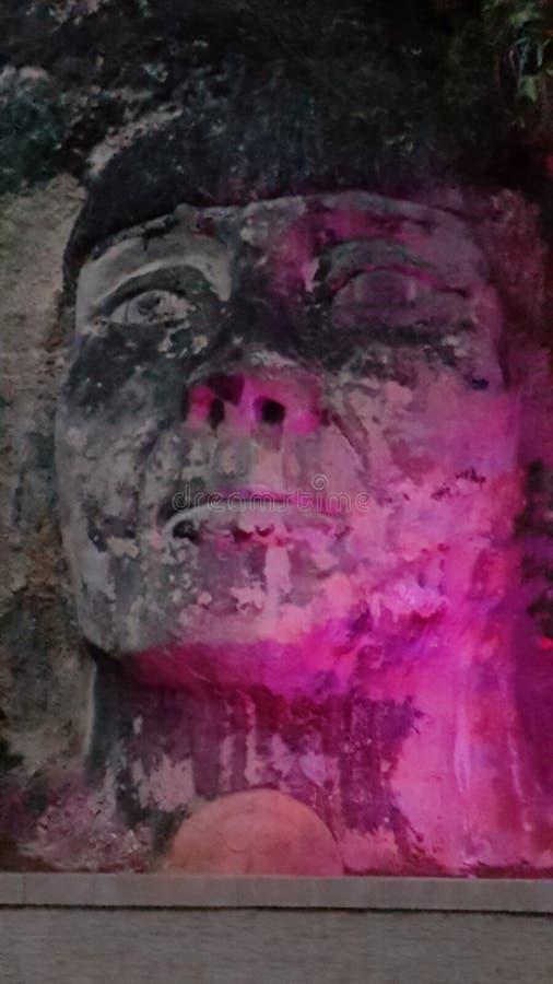 印度面孔,伊莎贝拉,波多黎各 免版税库存图片