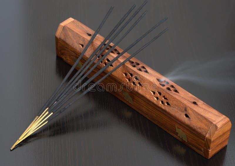 印度香火棍子 免版税库存照片