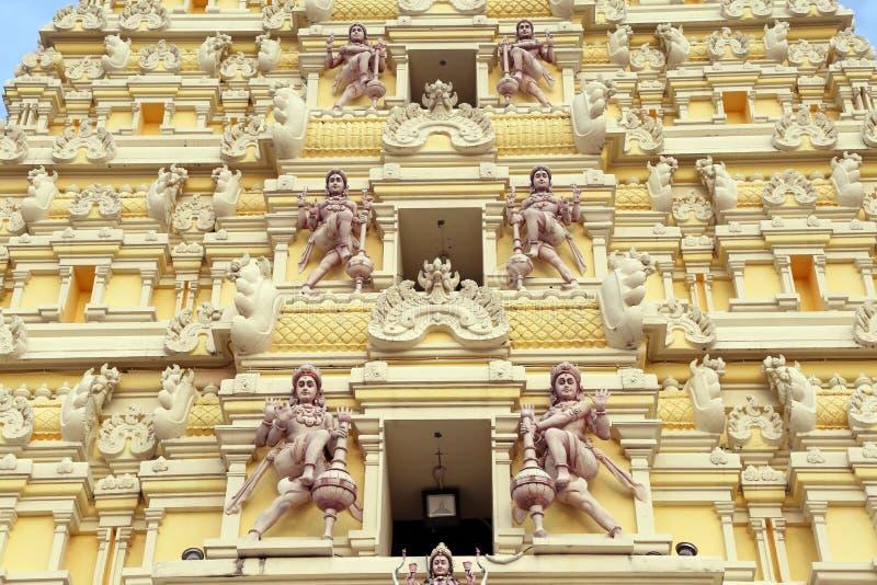 印度马杜赖minakshi sundareshvara寺庙 免版税图库摄影