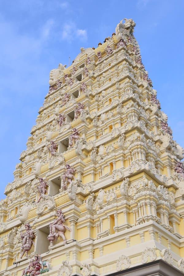 印度马杜赖minakshi sundareshvara寺庙 图库摄影