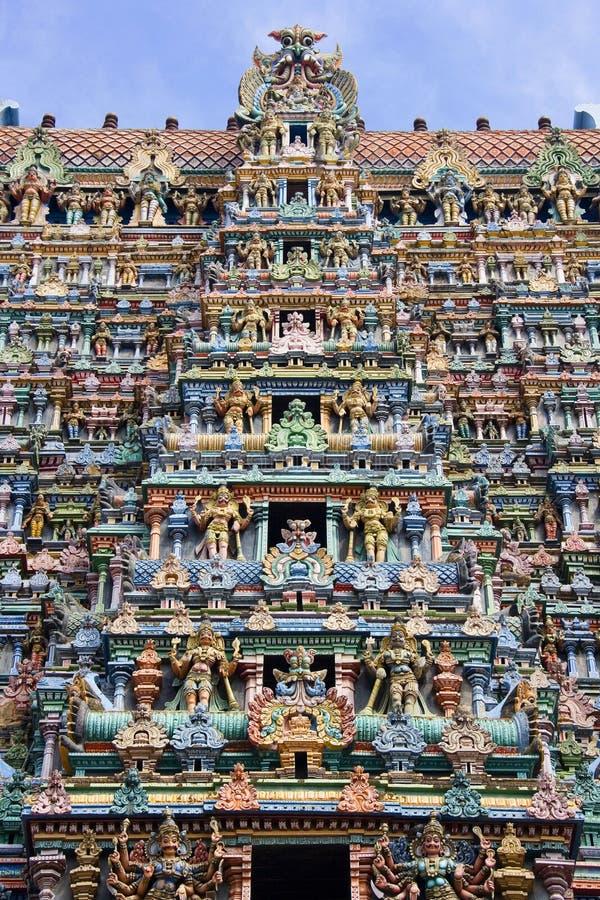 印度马杜赖nadu泰米尔语 免版税库存照片