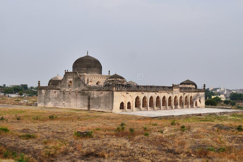 印度,古尔伯加堡垒 图库摄影