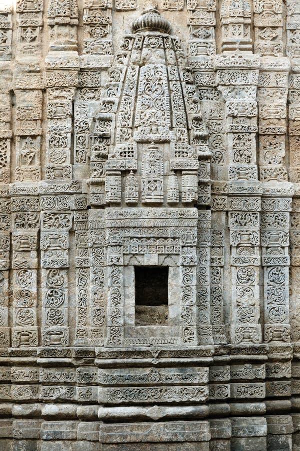 印度,在达兰萨拉附近的堡垒Kangra 库存照片