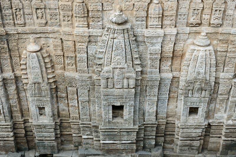 印度,在达兰萨拉附近的堡垒Kangra 免版税图库摄影