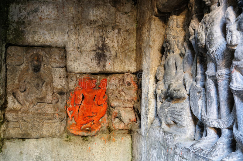 印度,堡垒Kangra 库存照片
