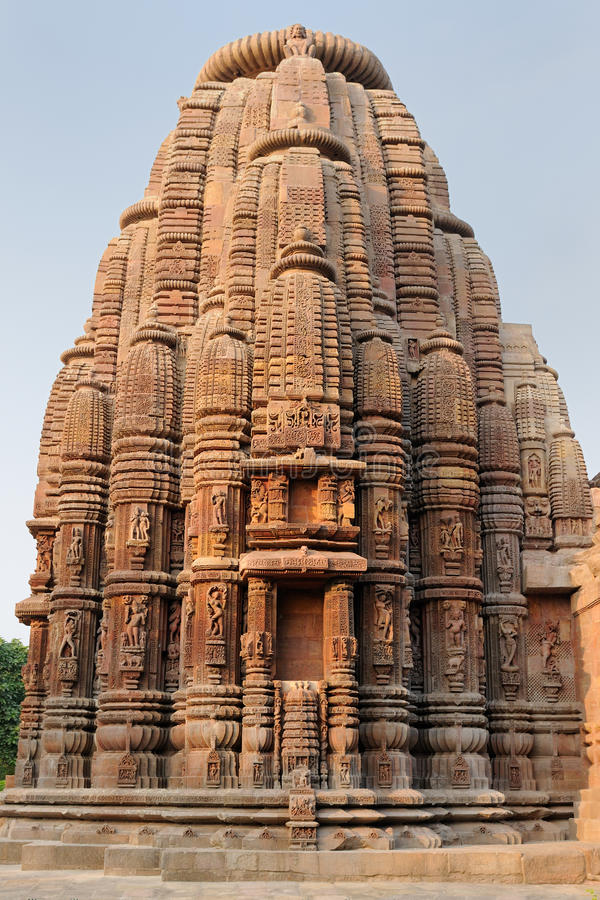 印度, Muktesvara寺庙在布巴内斯瓦尔 免版税图库摄影