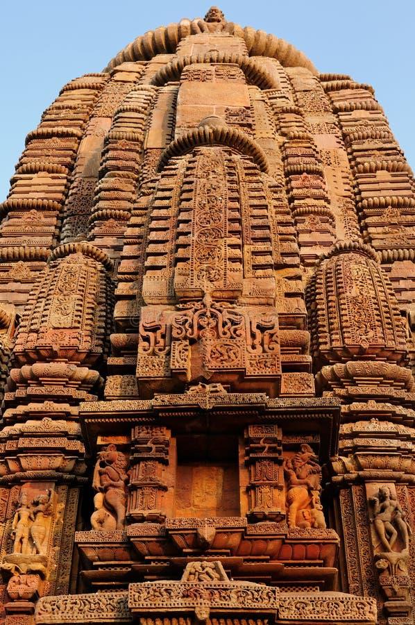 印度, Muktesvara寺庙在布巴内斯瓦尔 库存图片