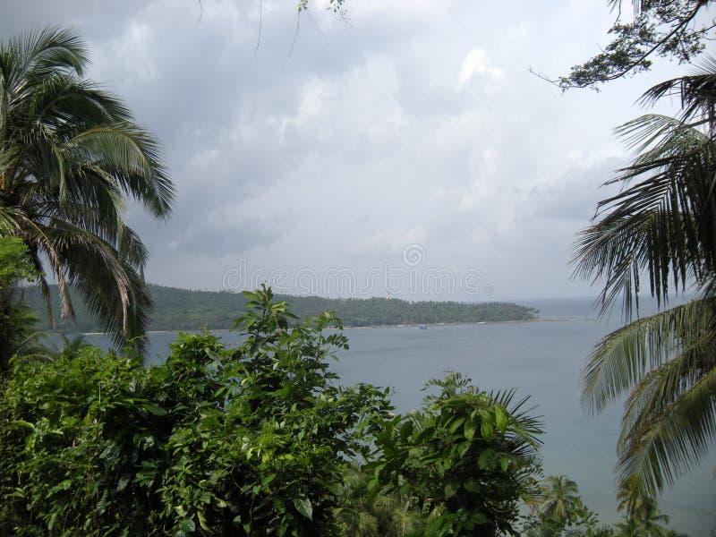 印度20卢比笔记真正的图片在安达曼尼科巴群岛 免版税图库摄影