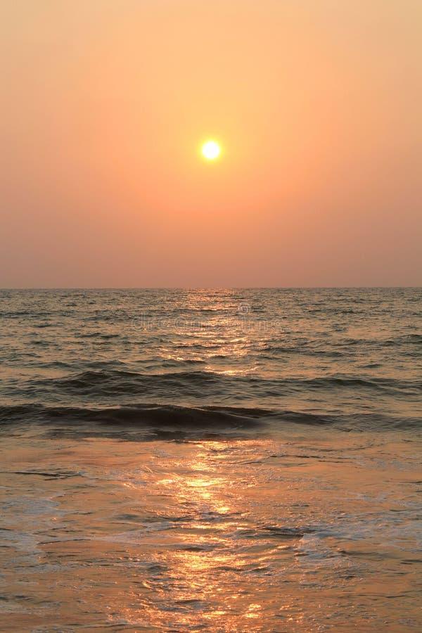 印度洋在斯里兰卡 免版税库存照片