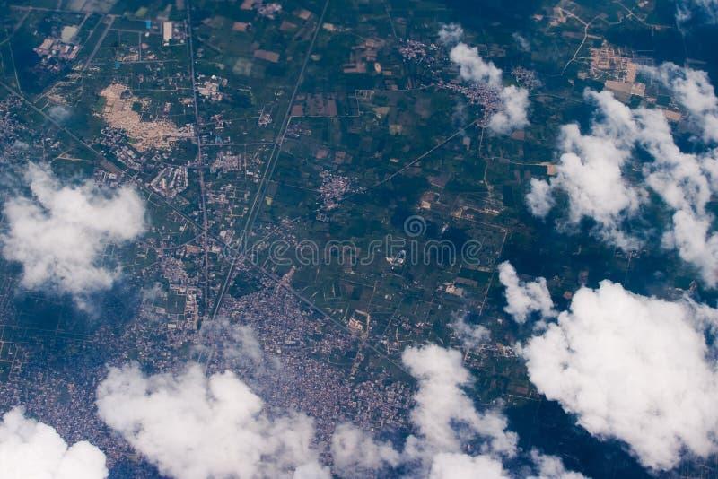 印度2的小镇 免版税库存图片