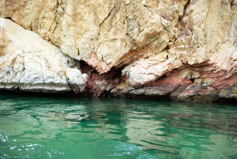 印度洋的海岸 库存照片