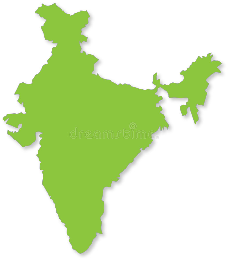 印度 皇族释放例证