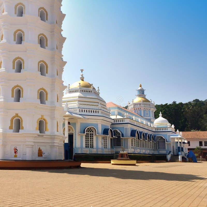 印度 goa 小印度寺庙 库存照片