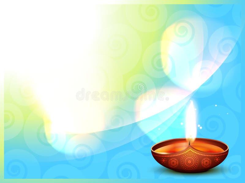 印度diwali节日 向量例证