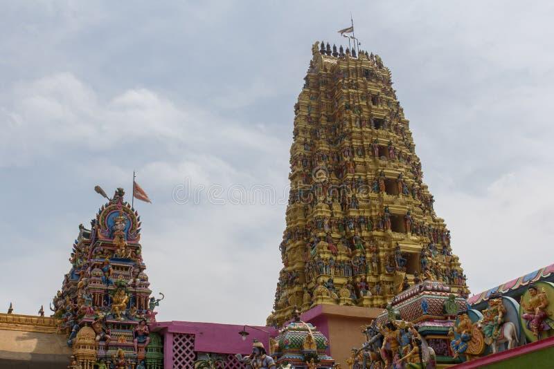 印度matale寺庙 免版税库存图片