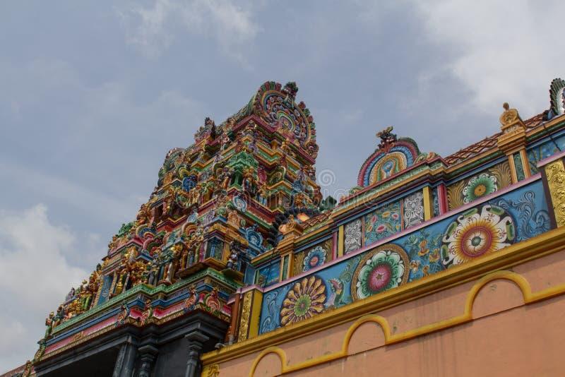 印度matale寺庙 免版税库存照片