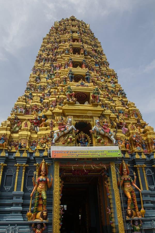 印度matale寺庙 免版税图库摄影
