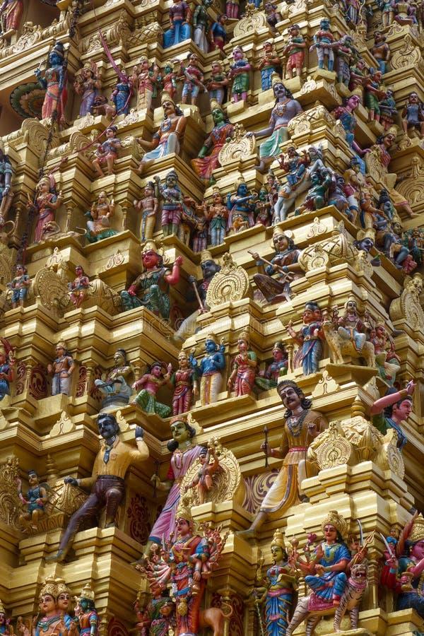 印度matale寺庙 图库摄影