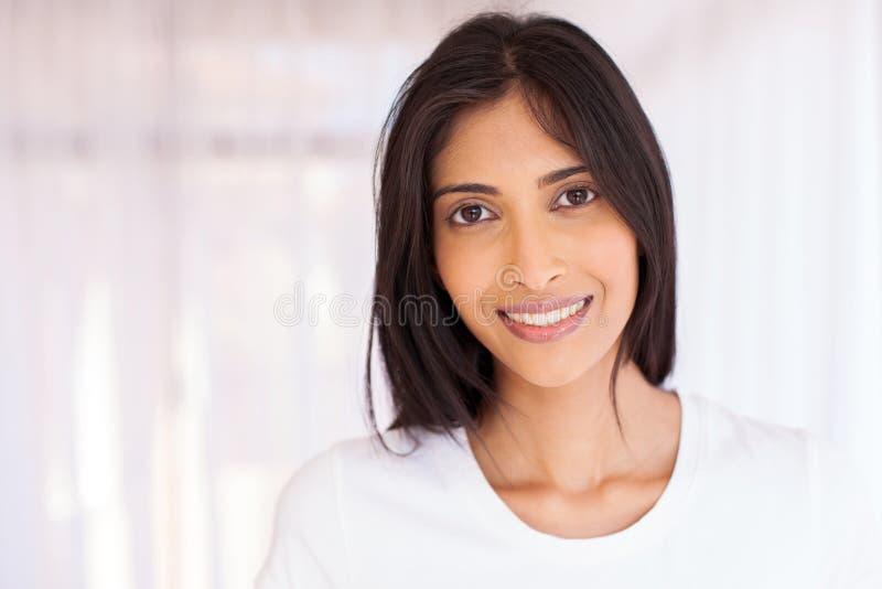 印第安俏丽的妇女 库存照片