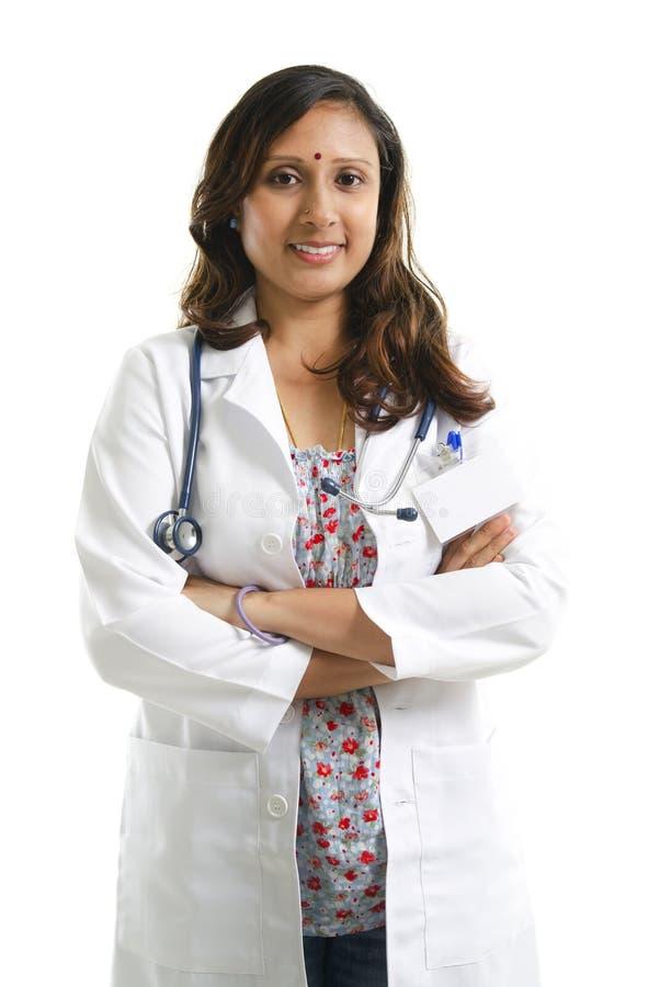 印第安医生纵向 免版税库存照片