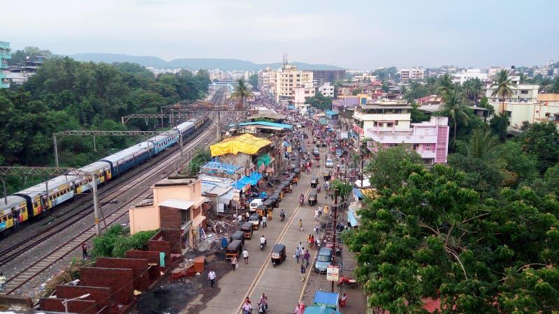 印第安城镇 免版税图库摄影